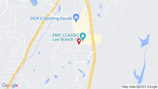 Hampton Inn & Suites Birmingham/280 East-Eagle Point, AL Map