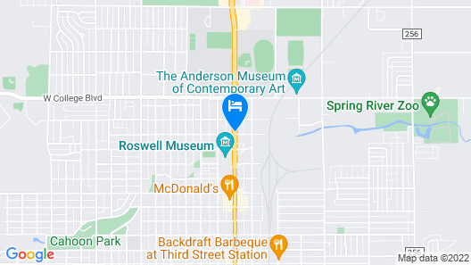 Fairfield Inn and Suites by Marriott Roswell Map