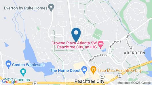 Fairfield Inn & Suites by Marriott Atlanta Peachtree City Map