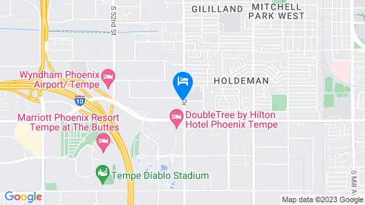Motel 6 Tempe, AZ - Phoenix - Priest Dr Map