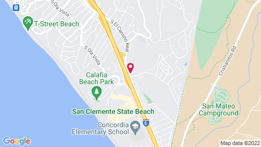 Hampton Inn & Suites San Clemente Map