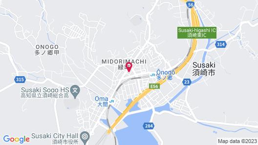 Susaki Prince Hotel Map