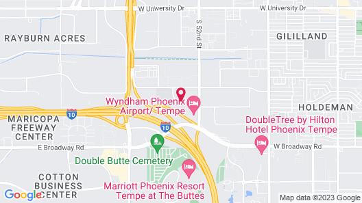 Red Roof Inn PLUS+ Tempe - Phoenix Airport Map