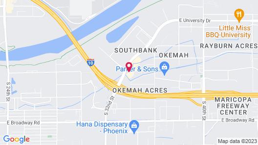 Drury Inn & Suites Phoenix Airport Map