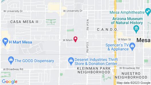 Econo Lodge Inn & Suites Mesa Map