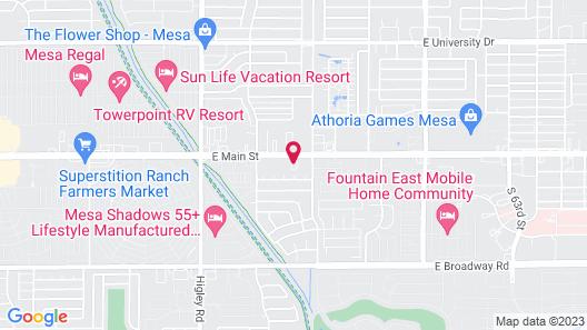 Days Inn by Wyndham Mesa East Map