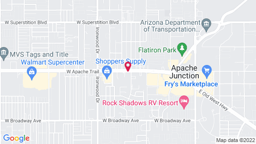 Best Western Apache Junction Inn Map