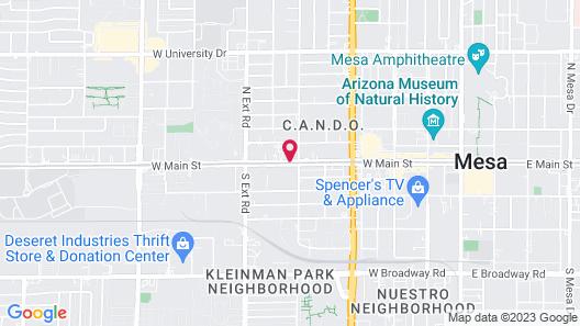 Knights Inn Mesa Map