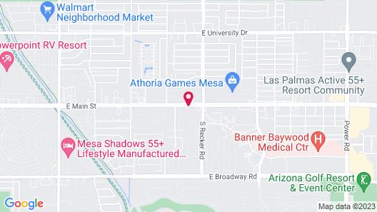 Miles Motel Map