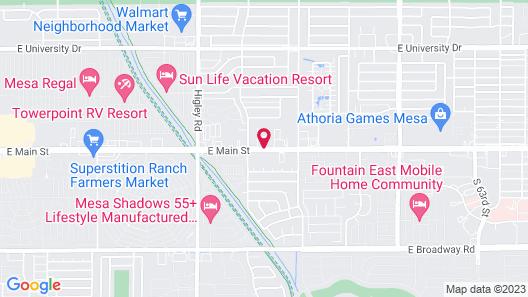 Colonade Motel Map