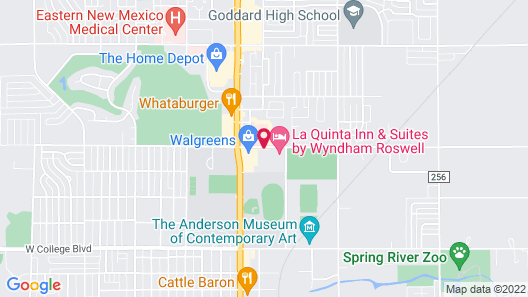 La Quinta Inn & Suites by Wyndham Roswell Map