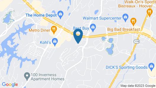 Sonesta Simply Suites Birmingham Map