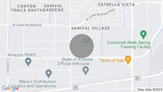 Home w/ Putting Green - 4 Mi to Estrella Mtn Park! Map