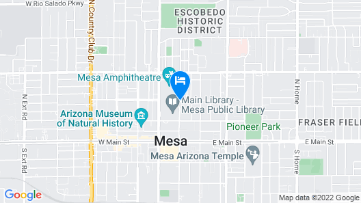 Delta Hotels by Marriott Phoenix Mesa Map