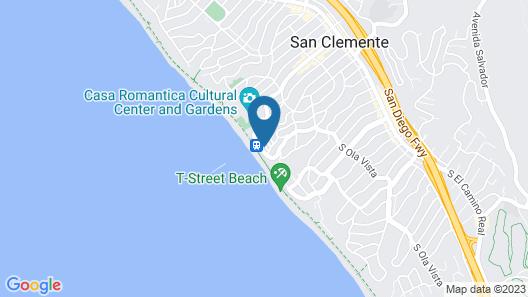 Oceanfront Hacienda Map