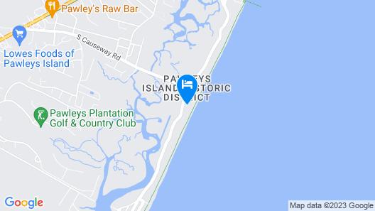 Sea Perch - 6 Br Home Map