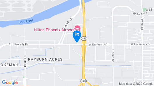 Country Inn & Suites by Radisson, Phoenix Airport, AZ Map