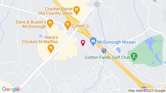 Residence Inn by Marriott Atlanta McDonough Map