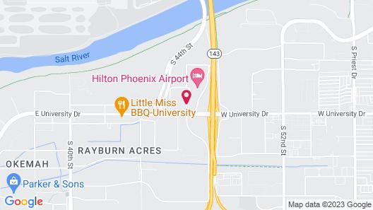 Courtyard by Marriott Phoenix Airport Map