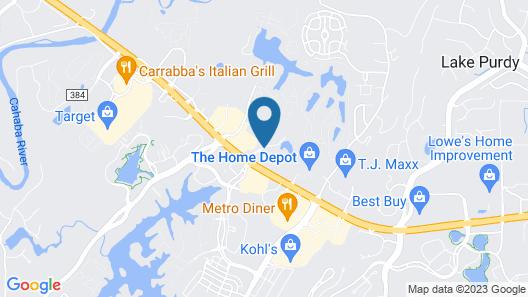 Sonesta ES Suites Birmingham Map