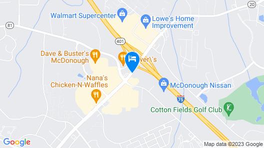 FairBridge Inn & Suites McDonough,GA Map