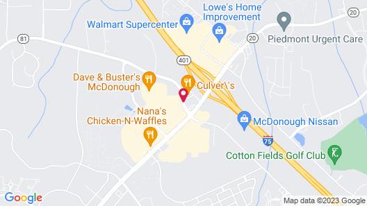 Hilton Garden Inn Atlanta South/McDonough Map