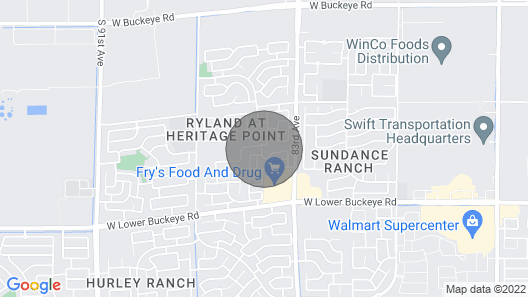 Located in the West Valley, close to many sports locations Map