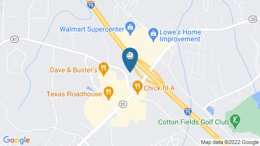Comfort Suites McDonough Atlanta South Map