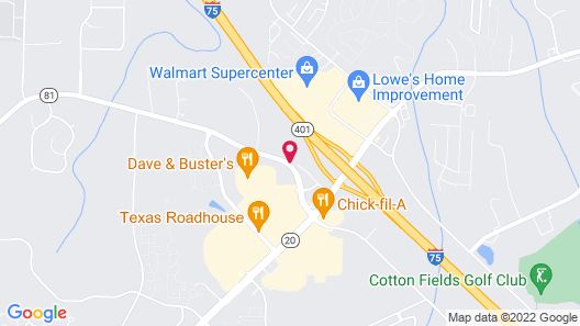 Candlewood Suites McDonough, an IHG Hotel Map