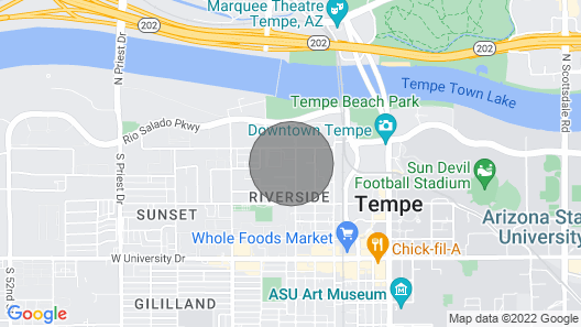 Home Away From Home in Tempe Map