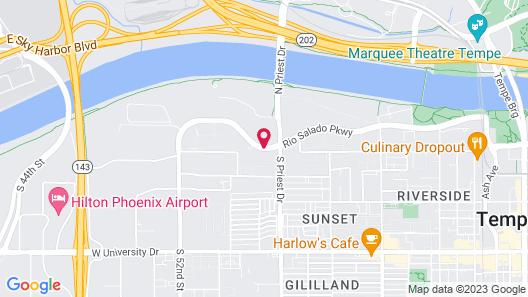 Hyatt Place Tempe Phoenix Airport Map