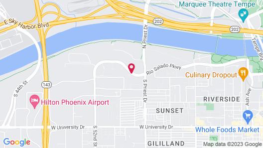 SpringHill Suites Phoenix Airport/Tempe Map