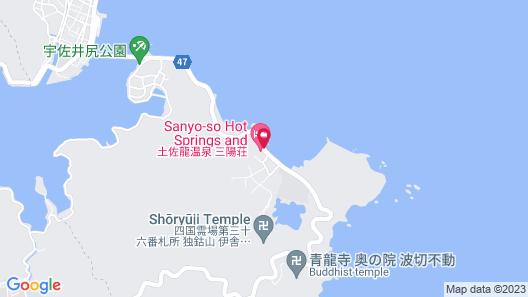 Tosaryu Onsen Sanyoso Map