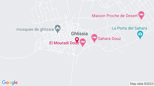 Mehari Douz Map