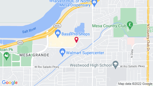 Hyatt Place Phoenix/Mesa Map