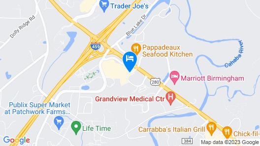 DoubleTree by Hilton Birmingham Perimeter Park Map