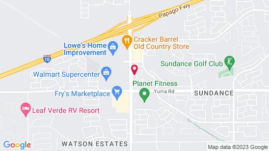 Home2 Suites by Hilton Buckeye Phoenix Map