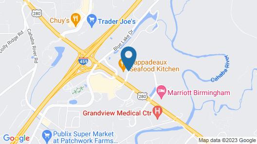 Drury Inn & Suites Birmingham Grandview Map