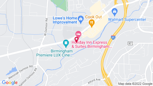 Candlewood Suites Birmingham/Homewood Map