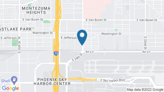 Motel 6 Phoenix, AZ - Airport - 24th Street Map