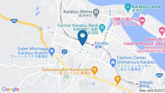 GRAND BASE Karatsu Ekiminami Map