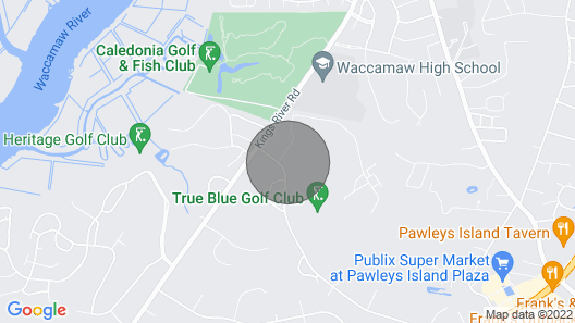 True Blue Golf Front 2 Bedroom, 2 Bathroom Map