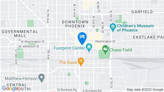 Kimpton Hotel Palomar Phoenix Cityscape, an IHG Hotel Map