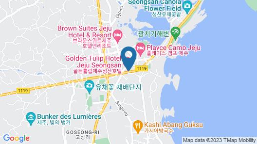 Golden Tulip Jeju Seongsan Hotel Map