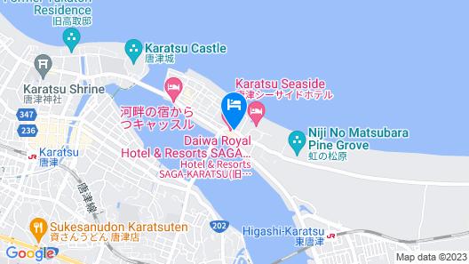 Hotel & Resorts SAGA-KARATSU Map