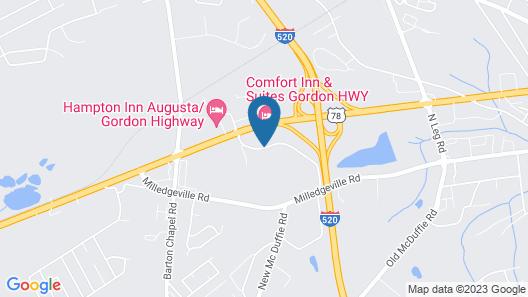 Wingate by Wyndham Augusta/Fort Gordon Map