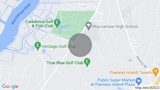 PAR TEE at the 17th Hole Condo- 45 Minutes From Myrtle Beach Map