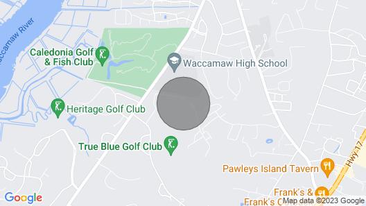 Delightful 3 Bedroom 2 Bath Condo in True Blue Golf Community Map