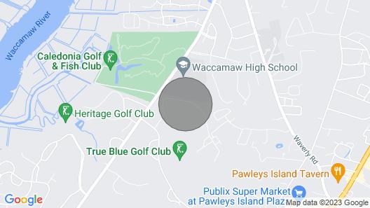 True Blue Condo on Pinehurst Lane Unit 14G Map