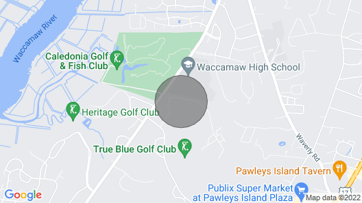 Updated Second Floor Condo True Blue Golf/tennis/pool Accessible 10F Map